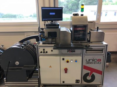 *SOLD* Serviform unica 355 evo automatic bender