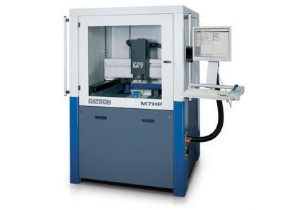 Datron M7 - Milling machine for embossing tools