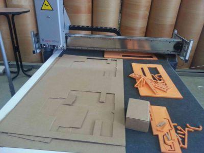 Digital rubber cutter Xpro 1010