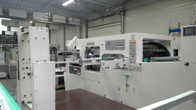 *SOLD* Brausse 105 F Hot Foil Stamping and Die-cutting machine