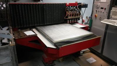 ***SOLD*** Counter Cutter MCS 107 Milling machine for milling phenolic counters (Pertinax)