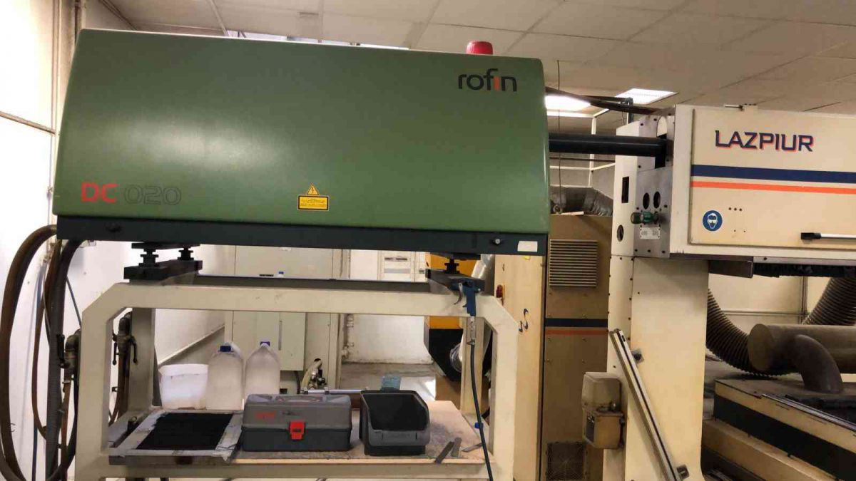 1500 wattflat rotary laser for diemaking with rofin sinar dc020