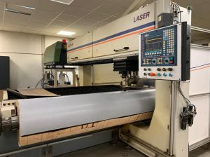 1500 Watt-Flat & rotary laser for die-making, with Rofin Sinar DC020