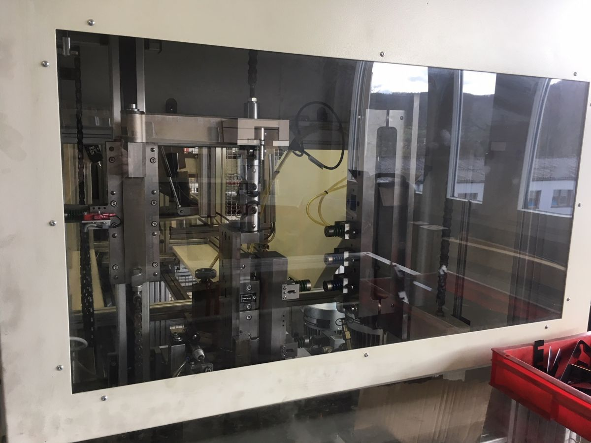 automatic bender elcede coilmate pro with automatic collector