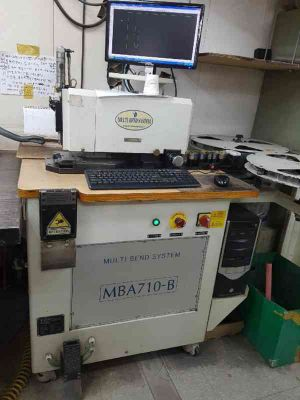 Automatic Bender fpr 2 & 3 pts.Multibender MBS710B