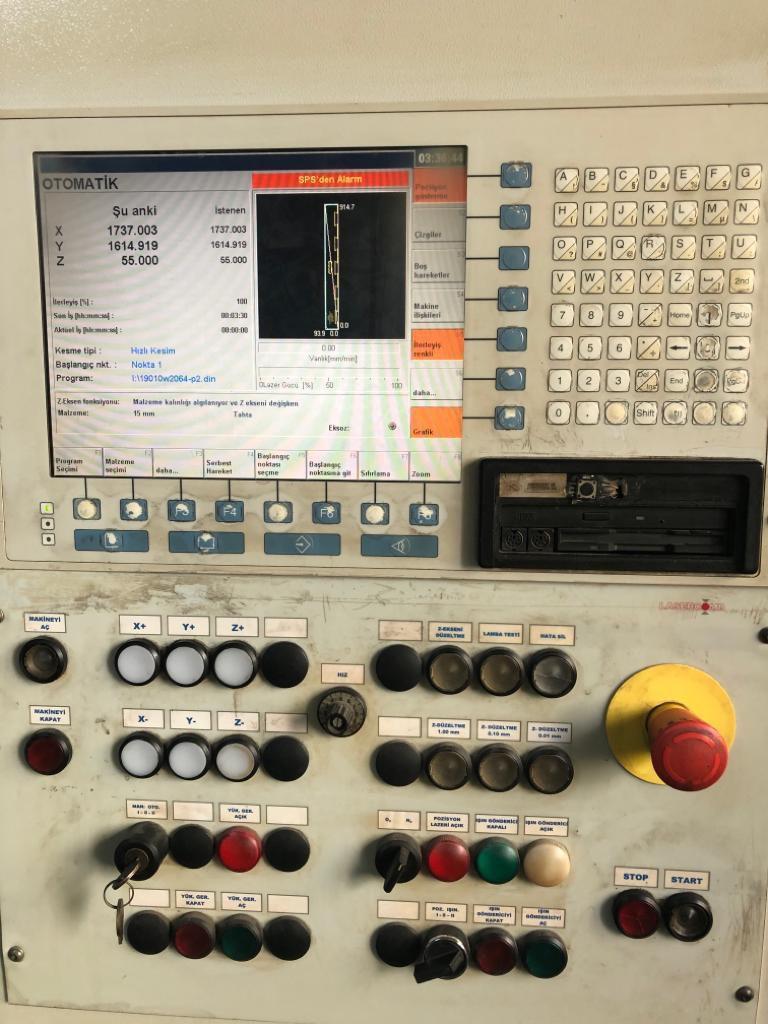 cls 2317 with rofin dc020 2000 watt