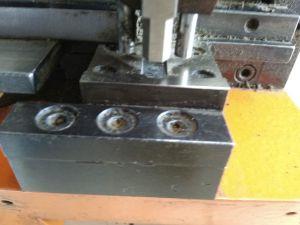 Cortado de doble inglete / nariz, electro-hidráulica