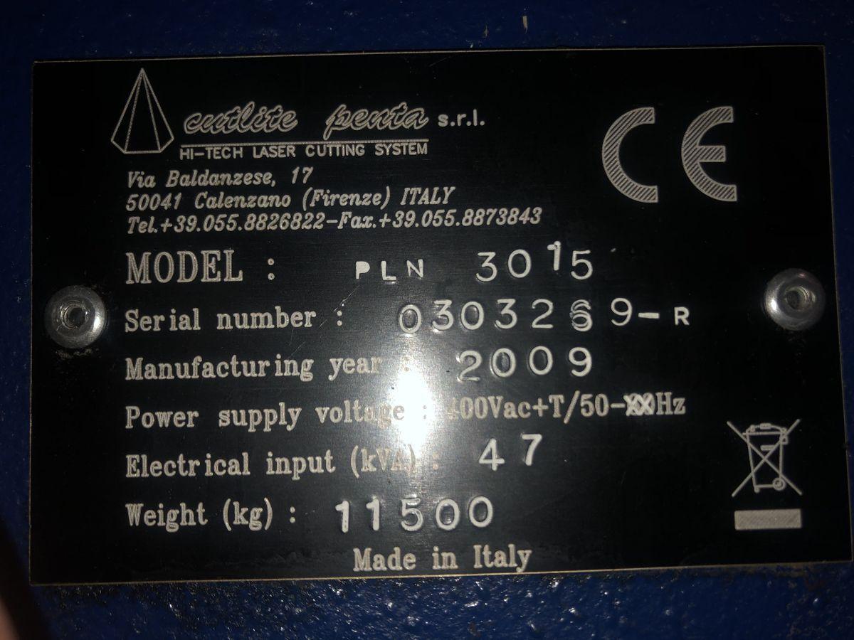cutlite penta pln 3015 2000 watt