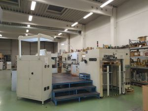 Die-Cutter & Hot Foil Stamping machine Brausse 1050 SEF