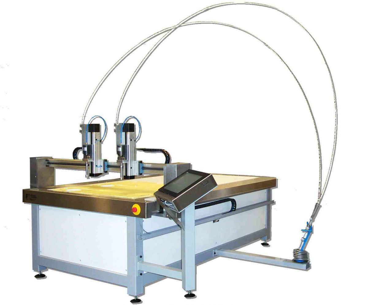 digijet waterjet purewater cutting machine
