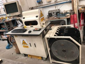 EasyCutter Rule processor for cutting rules of 23,80 and 50 mm height
