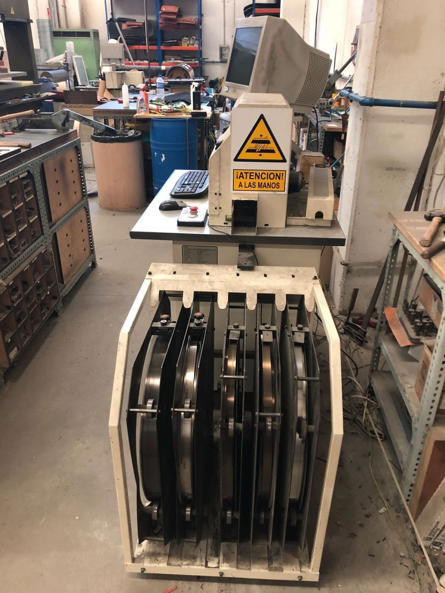 easycutter rule processor for cutting rules of 2380 and 50 mm height