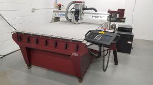 Gerber Profile Fräsmaschine für den Stanzformenbau