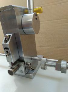 Hand notcher for 2 & 3 Pt. rules, 5 mm width, 15-18,5 mm depth