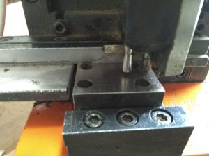 Hydraulic cutter for 2 & 3 pt. rules