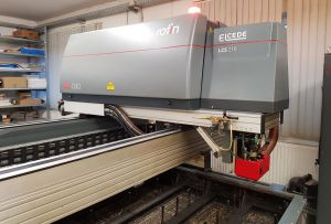 Laser Elcede LCS210 with DC010