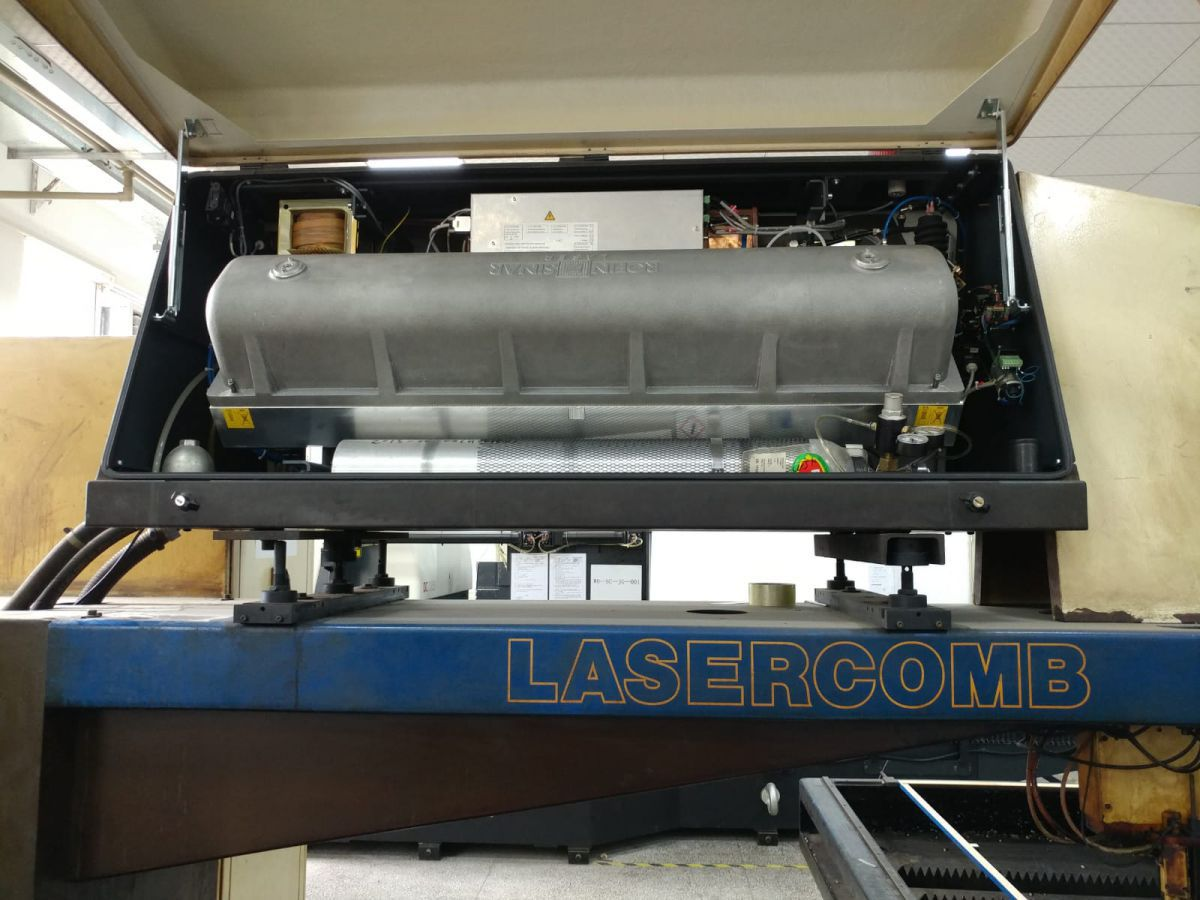 lasercomb cls 2115 dc020 laser for diemaking