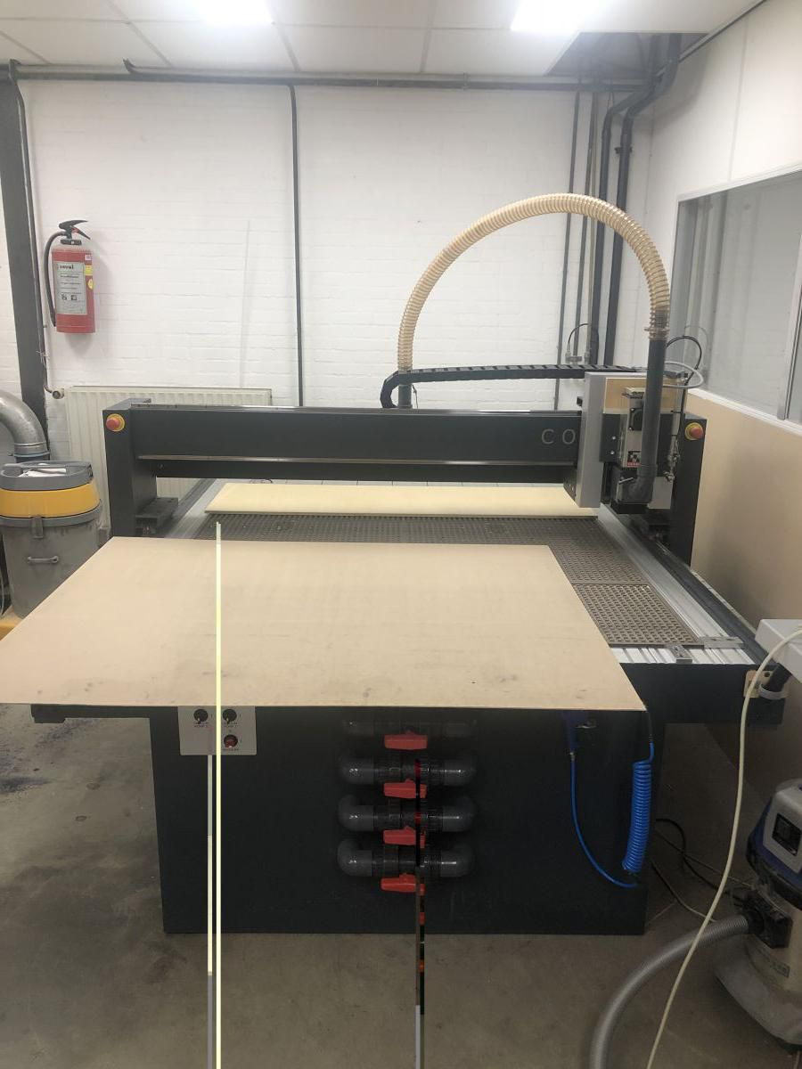 new cosign router for lower stripping dies