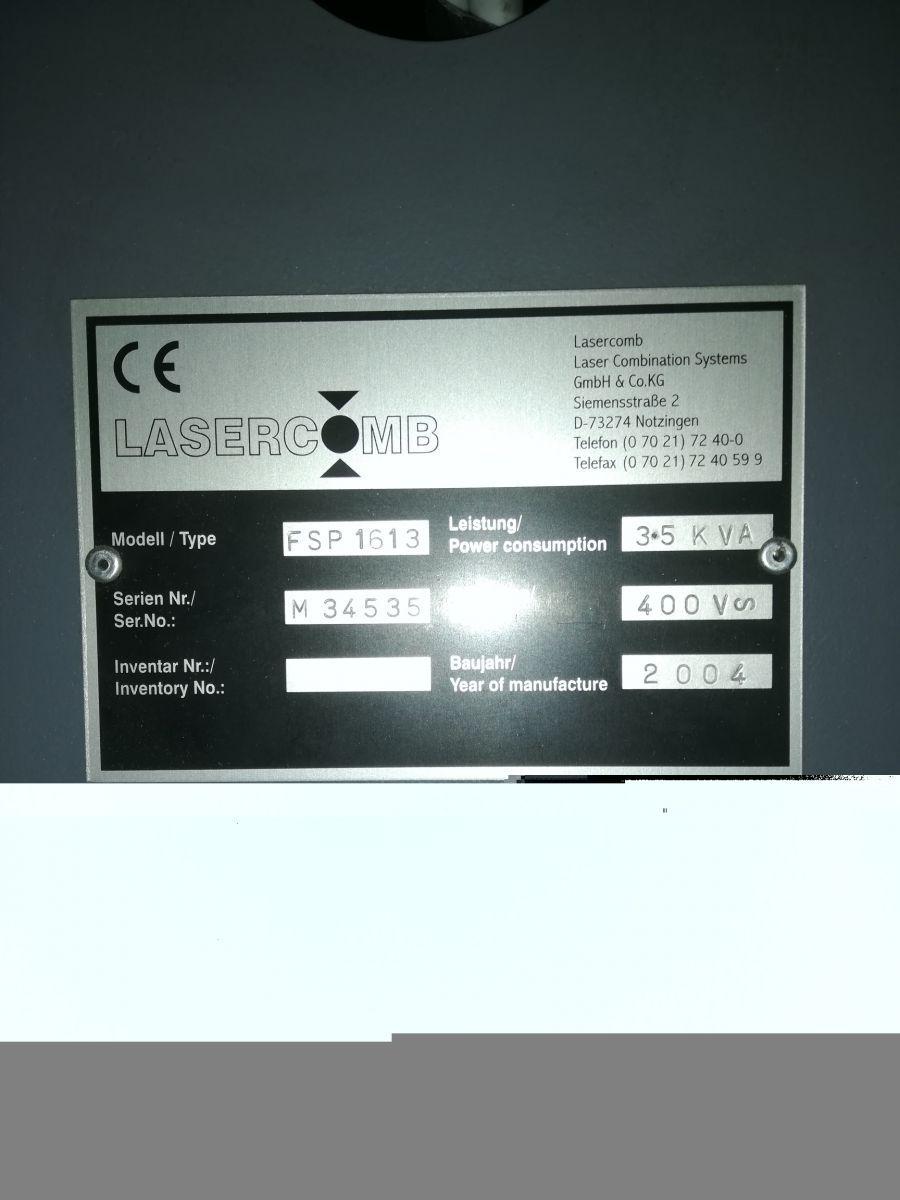 samplemaker lasercomb fsp 1613