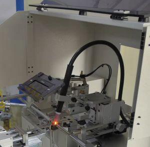 Schweissgerät und Schweiss-Anlage für den Stanzformenbau