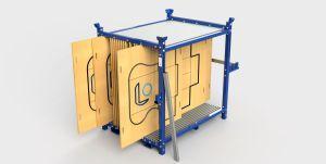 Sistema para almacenaje de troqueles