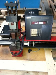 Straight cutter for steel rules 23,80 x 2pt.and 52-54° bevel