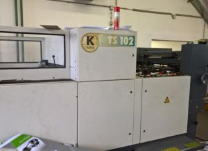***VENDIDA*** Troqueladora / suajadora KAMA TS 102, automática, sin desbarbe