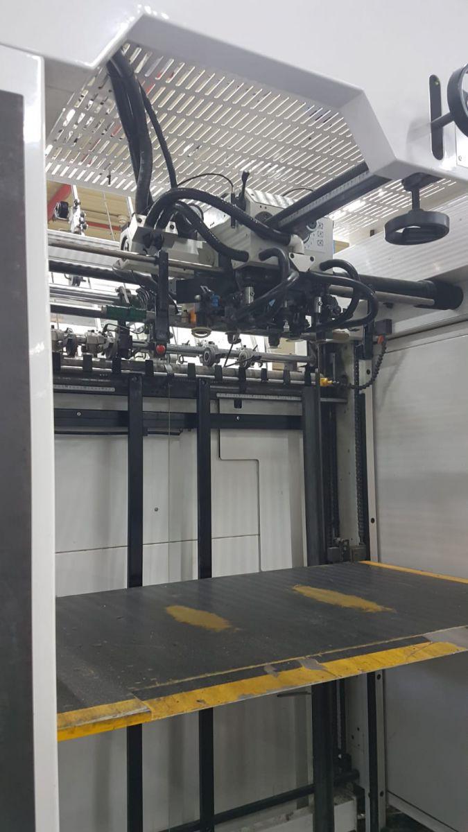 yoco automatic diecuttind and creasing machine