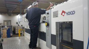 YOCO Automatic die-cuttind and creasing machine