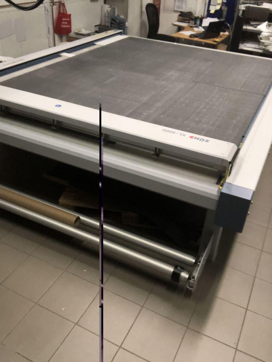 zund xl3000 digital cutter