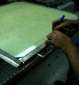 Zurichteschutzplatte aus Vetronit